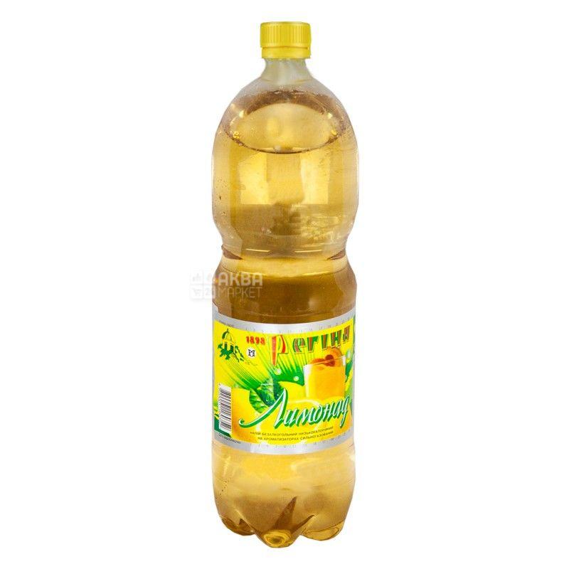 Регина, Лимонад, 1,5 л, Напиток сладкий, сильногазированный, ПЭТ