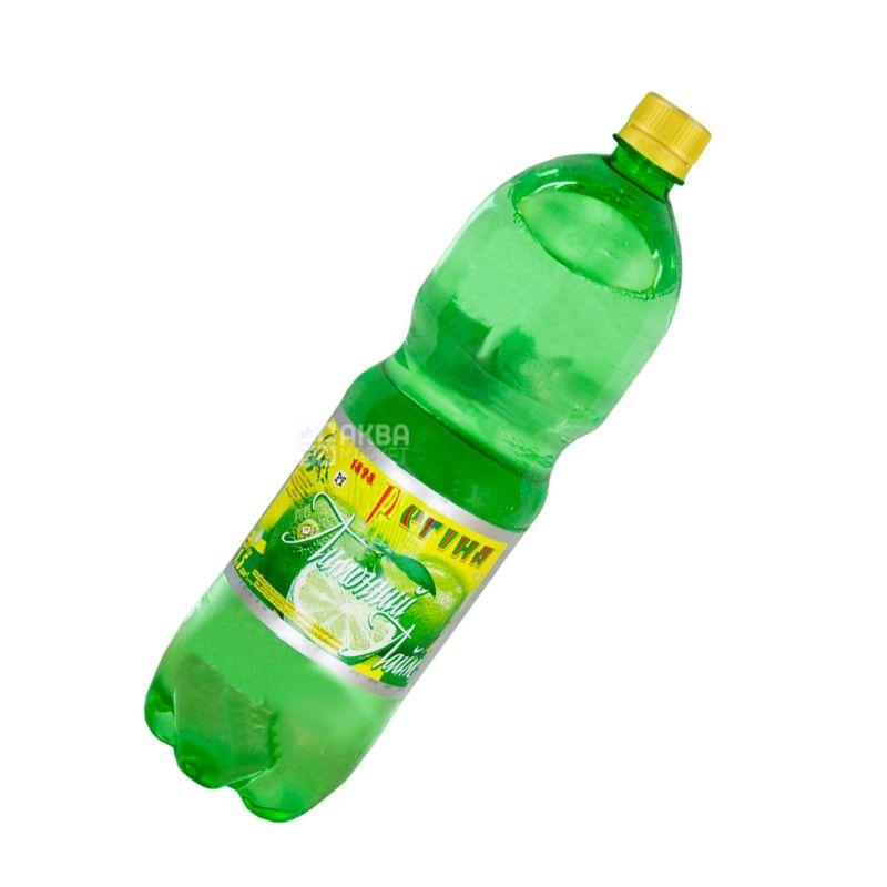 Регина, Лимонный Лайм, 1,5 л, Напиток сладкий, сильногазированный, ПЭТ