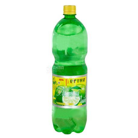 Регіна, Лимонний Лайм, 1,5 л, Напій солодкий, сильногазований, ПЕТ