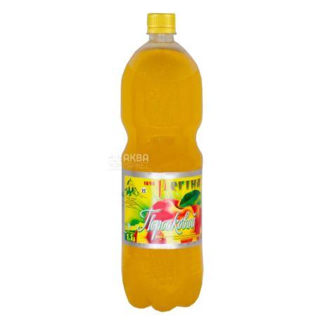 Регина Персик, Вода сладкая газированная, 1,5 л