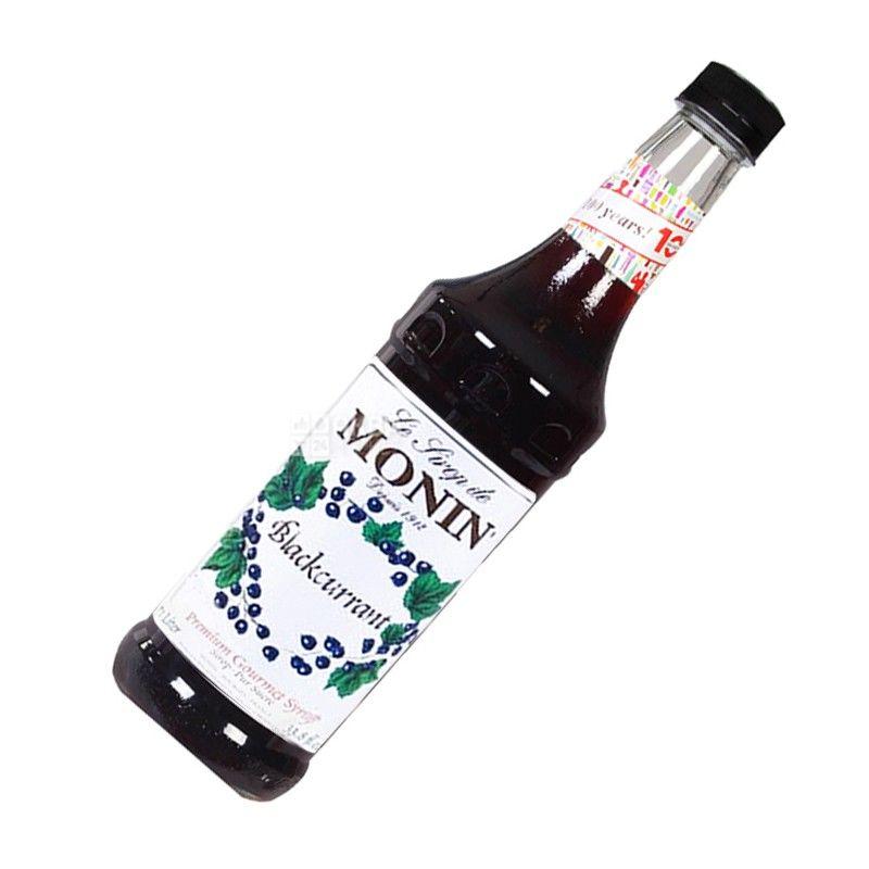 Monin Blackcurrant, 1 л, Сироп Монин, Черная смородина, стекло