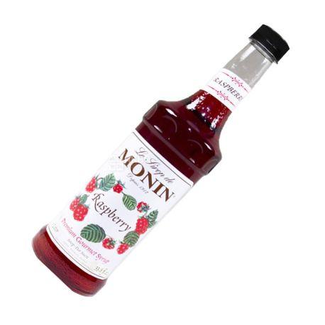 Monin, Raspberry, 1 л, Сироп Монін, Малина, скло