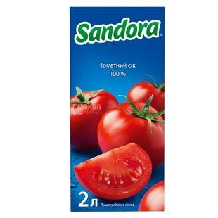 Sandora, 2 л, сік, Томатний, м/у