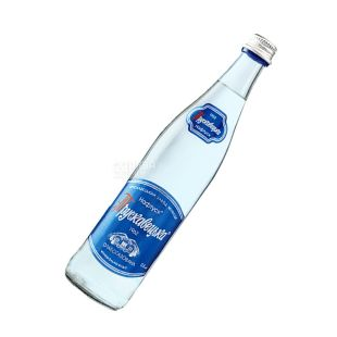Трускавецька, 0,5 л, слабогазована вода, Нафтуся, скло