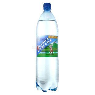 Поляна Квасова, 1,5 л, газированная вода, ПЭТ