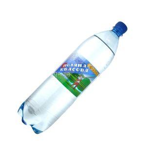 Поляна Квасова, 1,5 л, газована вода, ПЕТ