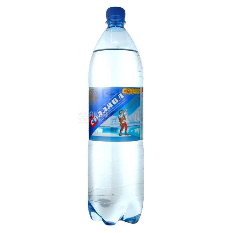 Свалява, 1,5 л, Вода сильногазированная, ПЭТ