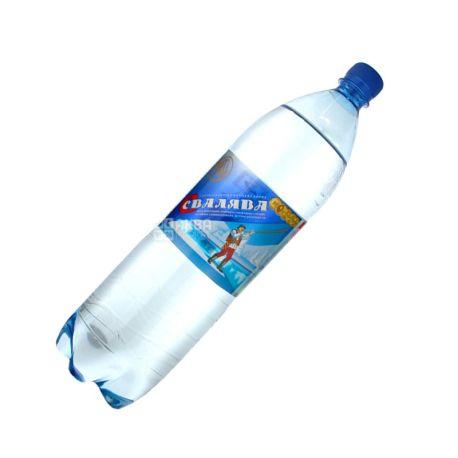 Свалява, 1,5 л, Вода сильногазована, ПЕТ