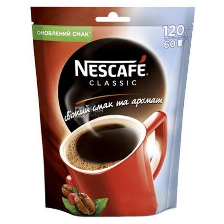 Nescafe Classic, 120 г, Кофе Нескафе Классик, растворимый