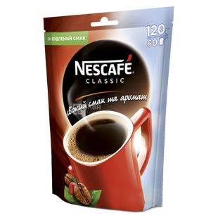 Nescafe Classic, Кава розчинна, 120 г