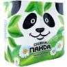 Снежная Панда, 4 рулона, туалетная бумага, Aroma, м/у
