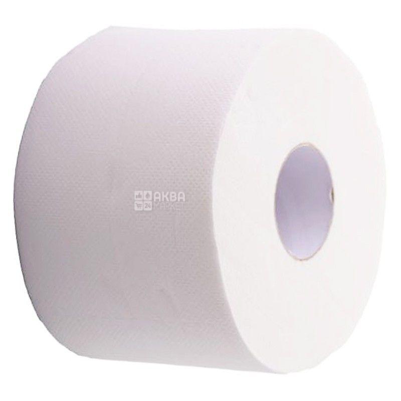 Mirus Jambo, 1 рул., Туалетний папір Мірус Джамбо, 2-х шаровий