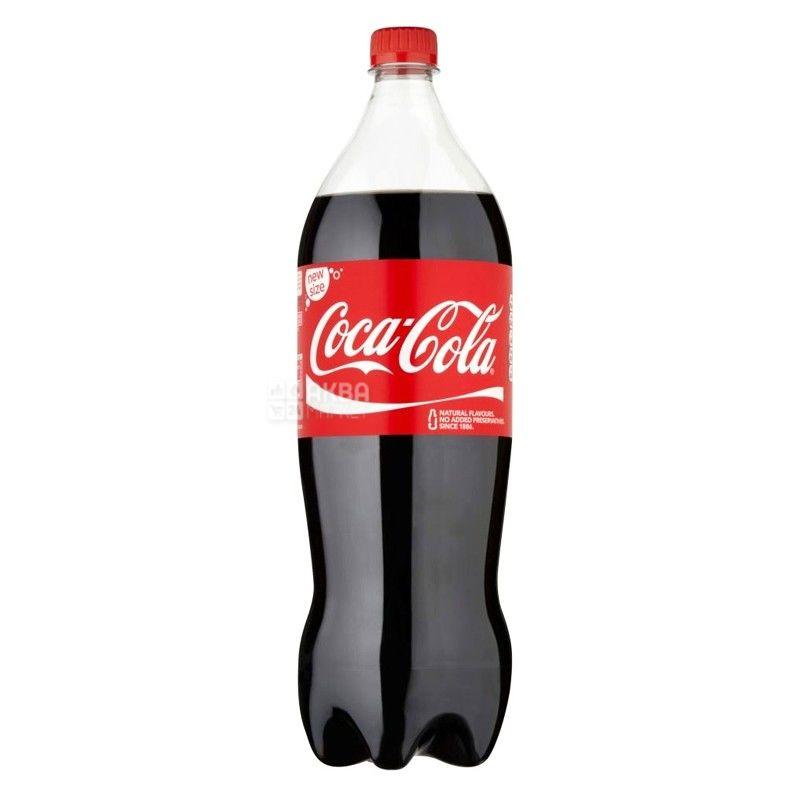 Coca-Cola, 1,5 л, Кока-Кола, Вода сладкая, ПЭТ
