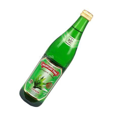 Грузинский Букет, Тархун, 0,5 л, Напиток сильногазированный, стекло