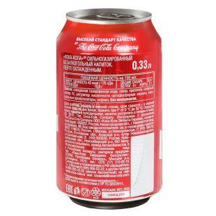 Coca-Cola, 0,33 л, солодка вода, м/у