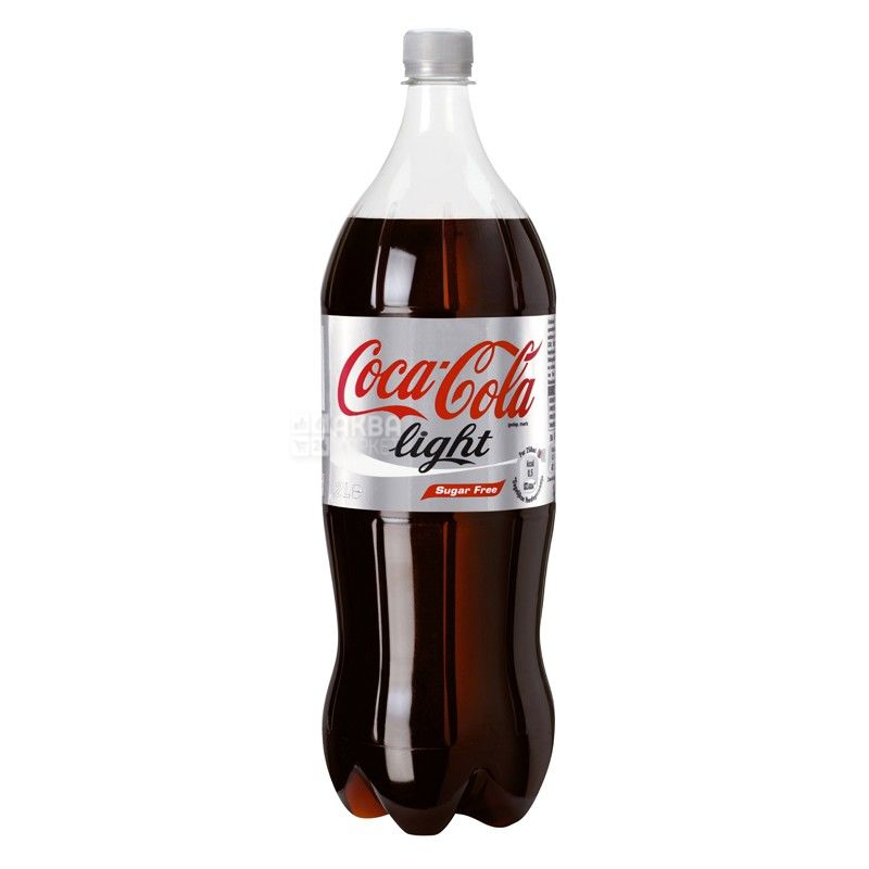 Coca-Cola, 1,5 л, сладкая вода, Light, ПЭТ