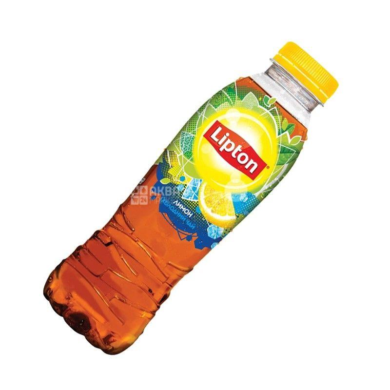 Lipton, 0,5 л, Чай Липтон, Холодный черный чай со вкусом лимона