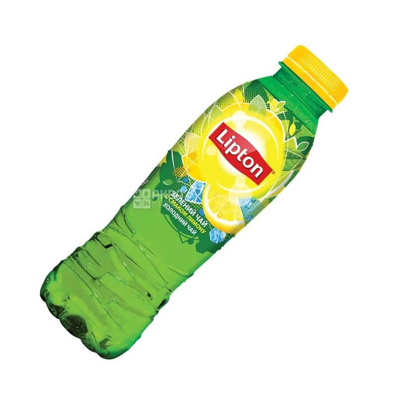 Lipton, 0,5 л, Чай Липтон, холодный, зеленый, Лимон