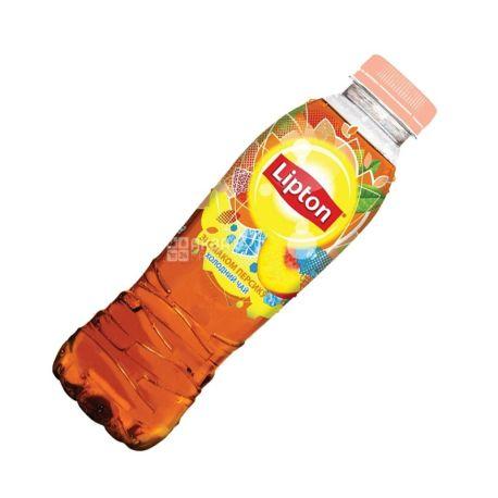 Lipton, 0,5 л, Чай Липтон, холодный, черный, Персик
