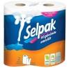 Selpak, 2 рулони, паперові рушники, Тришарові, м/у