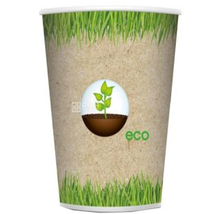Eco Glass paper with a pattern of 180 ml, 50 pcs, D71