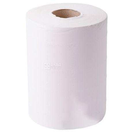 Mirus, 1 рул., Полотенца бумажные Мирус, 2-х слойные, с центральной вытяжкой, 60 м, 19х10 см