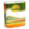 Ecolo, Paper towels, 2 рул., Бумажные полотенца Эколо, 2-х слойные