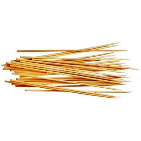 Промтус, Палочки бамбуковые для шашлыка, 25 см, 100 шт.