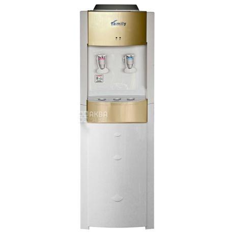 Bio Family WBF-1000 LA Gold, Кулер для води з компресорним охолодженням, підлоговий
