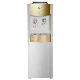 Bio Family WBF-1000 LA Gold, Кулер для воды с компрессорным охлаждением, напольный