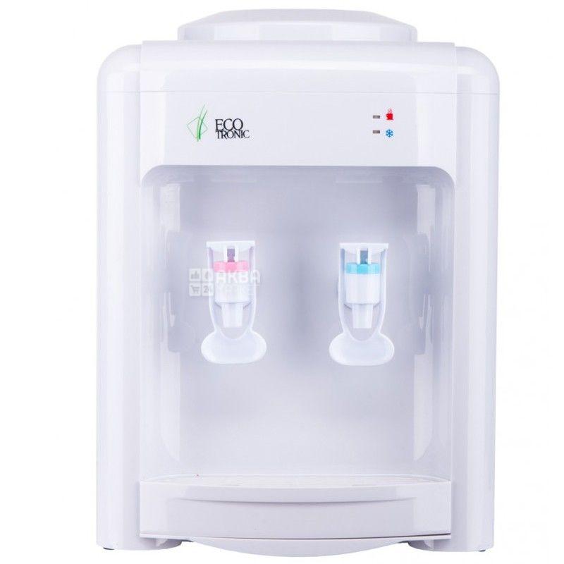 Ecotronic H2-TE White, Кулер для води з електронним охолодженням, настільний