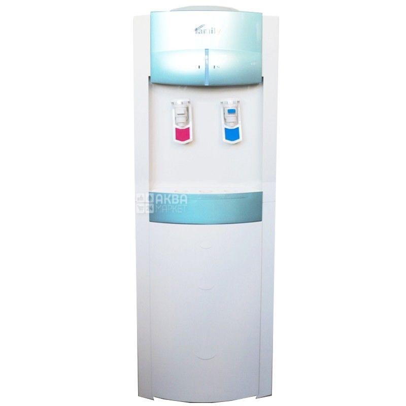 Bio Family WFD-420L Green, Кулер для воды с компрессорным охлаждением, напольный