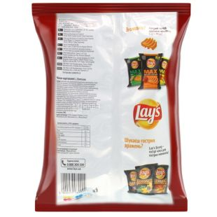 Lay's, 133 g, Potato chips, Bacon, m / s