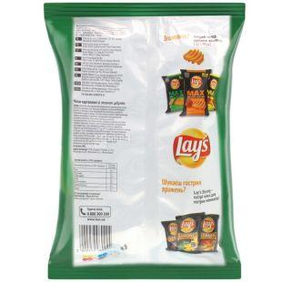 Lay's, 133 г, Чипси картопляні, Зелена цибуля, м/у