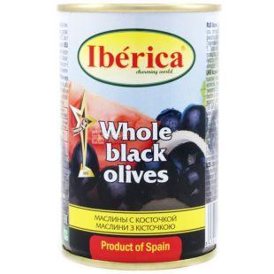 Iberica, 300 г, маслины, с косточками
