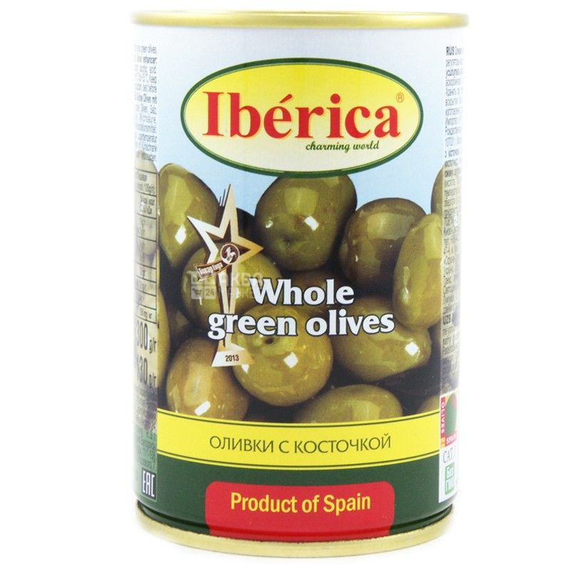 Iberica, 300 g, olives, with pits