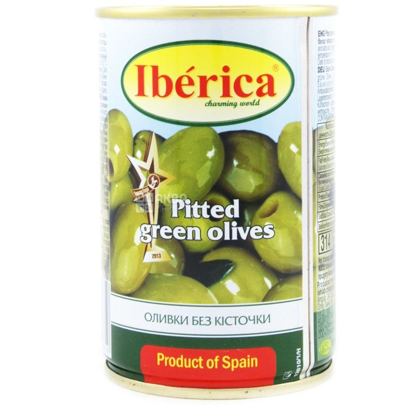 Iberica, 300 г, оливки, без косточек