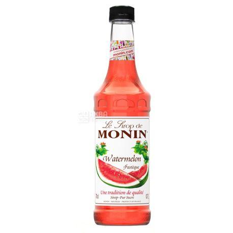 Monin, Watermelon, 1 л, Cироп Монин, Арбуз, ПЭТ