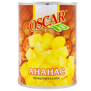 Oscar, 580 ml, pineapple pieces