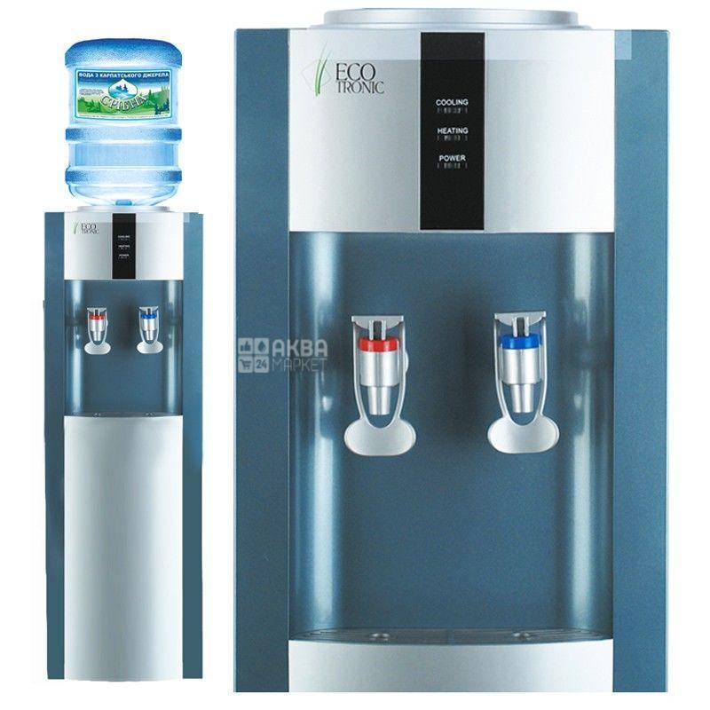 Ecotronic H1-LF Silver, кулер для води підлоговий