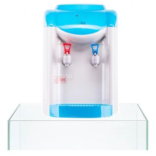 Ecotronic K1-TE Blue, кулер для води настільний