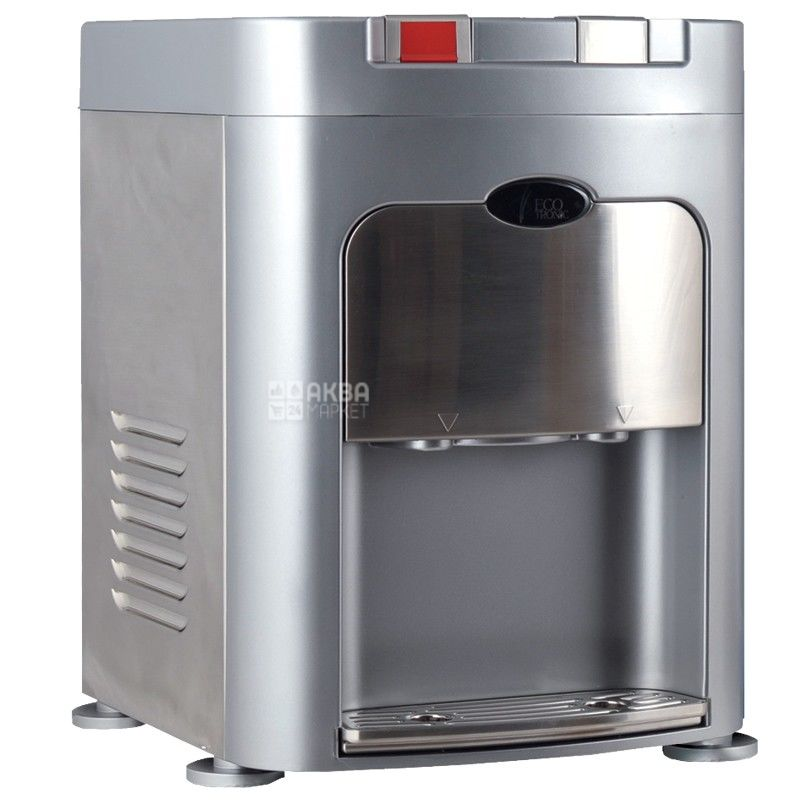 Ecotronic C8-TZ Silver, Кулер для воды с компрессорным охлаждением, настольный