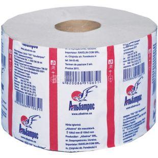 Jumbo, 100 m, toilet paper, single-layer, m / s