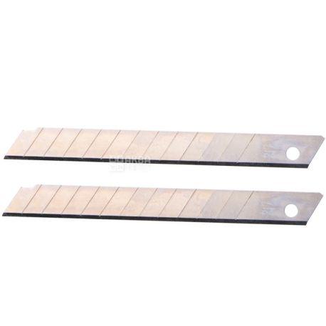 Klerk, 10 шт., 18 мм, лезвия сменные, Для канцелярских ножей, м/у