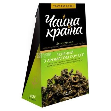 Чайна країна, Соу-Сеп, 80 г, Чай зеленый