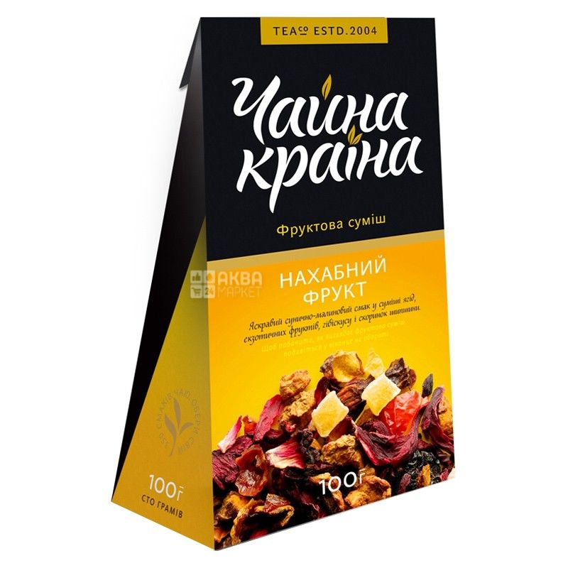 Чайна країна, Нахабний фрукт, 100 г, Чай фруктово-ягідний