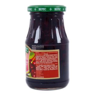 Верес, 400 г, конфитюр, вишневый