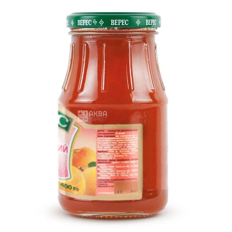 Верес, 400 г, джем, абрикосовий