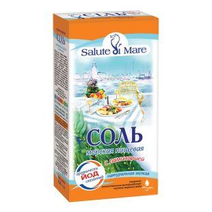 Salute di Mare, 750 г, сіль морська, харчова, з ламінарією