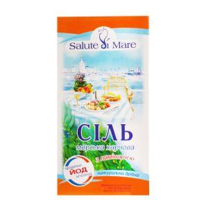 Salute di Mare, 750 г, соль морская, пищевая, с ламинарией